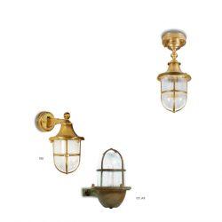 applique Moretti luce laiton brut 180-182
