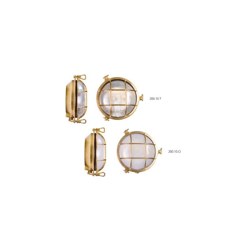 applique Moretti luce laiton brut 200.10