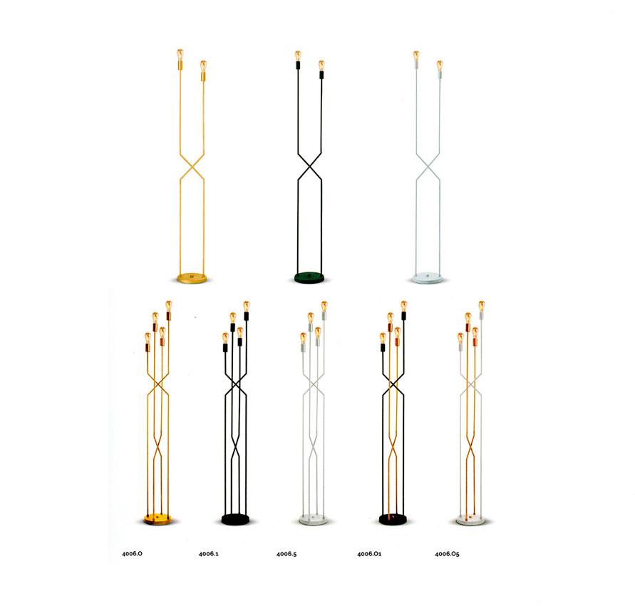 lampadaire-moretti-luce 4005-4006