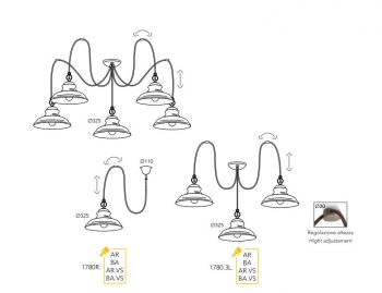 dimension moretti luce mill-1780-5L