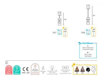 finition lampe Moretti Luce -3357-3358