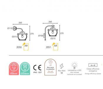 lampe moretti luce dimension-betulle-2050-2051
